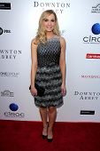 LOS ANGELES - JUN 10:  Joanne Froggatt arrives at An Evening with Downton Abbey at the Leonard H. Go