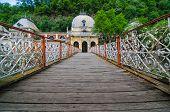 Austrian old historic spa in Baile Herculane