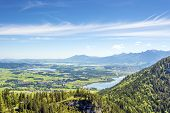 Views Of The Allg�u Region Of Bavaria