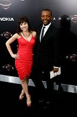 NEW YORK-JUNE 10: Actress Christina Wren and husband Demetrius attend the world premiere of