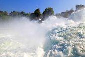Famous Rhein Falls (Schaffhausen, Switzerland)