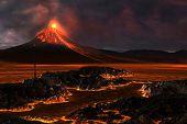 Montanha vulcânica