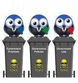 Political bins
