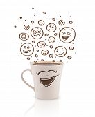 picture of emoticon  - Coffee - JPG