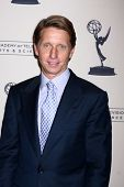 LOS ANGELES - JUN 13:  Brad Bell arrives at the Daytime Emmy Nominees Reception presented by ATAS at