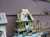 Farm house bird house