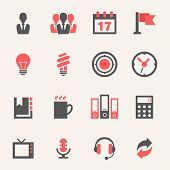 Business. Icon set
