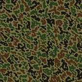 Vector Military Camouflage Pattern