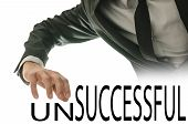 Changing Word Unsuccessful Into Successful