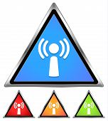 Wifi / Antennae / Wifi sign, icon