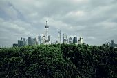 Shanghai bund landmark skyline landscape' poster