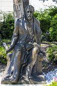 Henryk Sienkiewicz Statue In Vevey, Switzerland