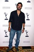 LOS ANGELES - JUN 13:  Ignacio Serricchio arrives at the Daytime Emmy Nominees Reception presented b