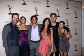 LOS ANGELES - JUN 13: E Marsolf, ein Zucker, Shawn Christian, Camilla Banus, Blake Berris, Kate Mansi