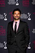 LOS ANGELES - JUN 14:  Ignacio Serricchio attends the 2013 Daytime Creative Emmys  at the Bonaventur