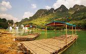 Ban Gioc - Detian waterfall in  Vietnam