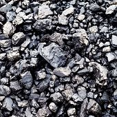 bituminous coal background.
