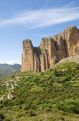 Riglos montañas en España