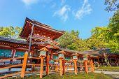 Kasuga Taisha Shrine in Nara in Japan