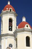 towers in the Cathedral of the Immaculate Conception, cienfuegos, Cuba