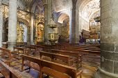 innerhalb der romanischen Kathedrale von Jaca, Huesca, Aragon, Spanien