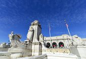 picture of amtrak  - Columbus Memorial and Union Station in Washington DC - JPG