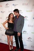 LOS ANGELES - JAN 9:  Chrishell Stause, Justin Hartley at the