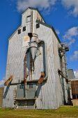 A large grain elevator