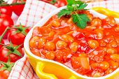 Canned Beans In Tomato Sauce
