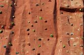 Climbing Wall Background.