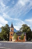 Church  In Garmisch-partenkirchen, Germany