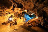Krychtaleva cave indoor view, Ukraine
