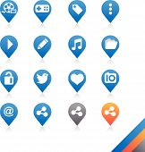 Social Media Icons Vector - Simplicity Series