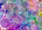 Multicolored Blurry Abstract Background.