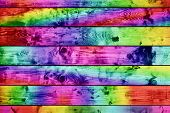 Grunge colorful wood planks background, vintage style. High details, hd quality.