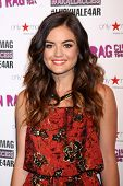 LOS ANGELES - JUN 14:  Lucy Hale at the in store appearance and performance for American Rag at Macy's on June 14, 2014 in Sherman Oaks, CA