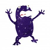 cartoon poison frog