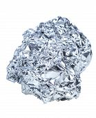 Crumpled Ball Of Aluminum
