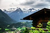 Mountains Of Tirol, Austria, At Summer