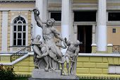 Sculptural group Laocoon in Odessa