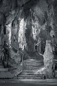 Khao Luang cave in Phetchaburi, Thailand