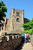 Norman castle, Tamworth, England.