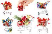 Christmas sale collage
