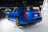 Cadillac Ats Sedan Car On Display