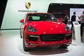 Porsche Cayenne 2015 On Display