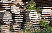 Pile Of Wooden Boards