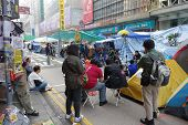 Hong Kong's Democracy Protesters Are Fighting Off Their Chief Executive