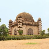 Gol Gumbaz Palace And  Mausoleum Bijapur Karnataka India