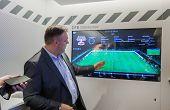 Berlin, Germany - November 11, 2014: Sap Vice President Rolf Schumann Talks How Big Data Software He