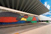 Joan Miro - Large Ceramic Mural - Barcelona